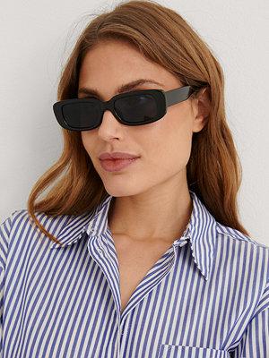 NA-KD Accessories Smala Solglasögon svart