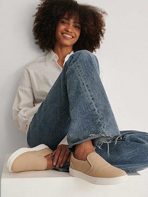 NA-KD Shoes Slip-In-Träningssko beige