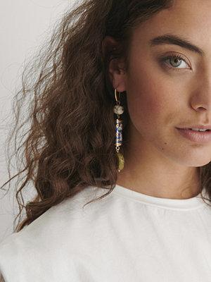 NA-KD Accessories smycke Berlock Pärlörhängen multicolor