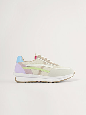 NA-KD Shoes Pastel Detail Retro Sneakers multicolor