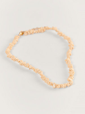 Mango smycke Halsband beige