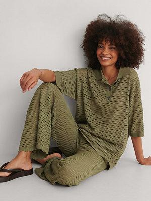 Mango Skjorta grön
