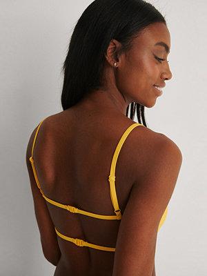 Marije Zuurveld x NA-KD Recycled Bikiniöverdel gul