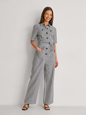 Jumpsuits & playsuits - NA-KD Jumpsuit Med Bälte svart