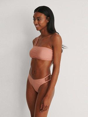 NA-KD Swimwear Recycled V-formad Bikinitrosa rosa