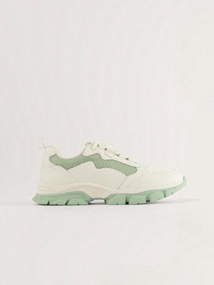 NA-KD Shoes Low Trekking Sneakers grön