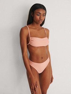 Marije Zuurveld x NA-KD Recycled Bikiniunderdel Med Hög Midja rosa