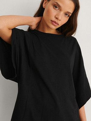 Mango Ekologisk T-shirt svart
