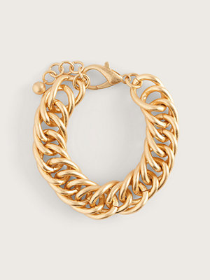 NA-KD Accessories smycke Messy Chain Armband guld
