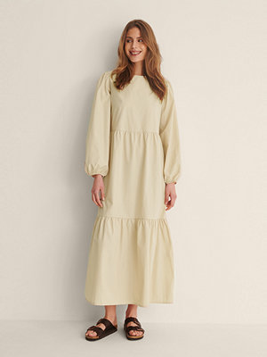 Trendyol Maxiklänning beige