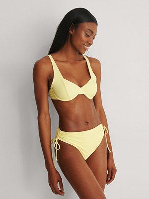 NA-KD Swimwear Bikinitrosa Med Band I Sidan gul