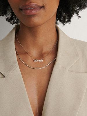 NA-KD Accessories smycke Selfmade Necklace guld