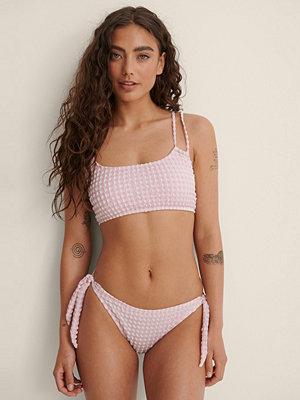 Trendyol Bikiniunderdel Med Struktur rosa