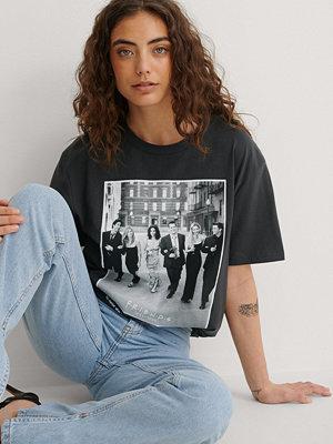 Warner Bros. Ekologisk Unisex T-shirt Med FRIENDS-tryck grå