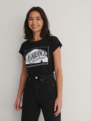 Warner Bros. Ekologisk T-shirt Med Rå Kant svart