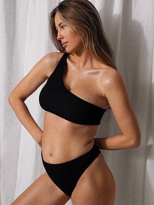 Mathilde Gøhler x NA-KD Recycled Bikinibyxa Med Hög Midja svart
