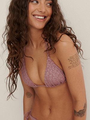 NA-KD Swimwear Trekantsbikini-Topp rosa