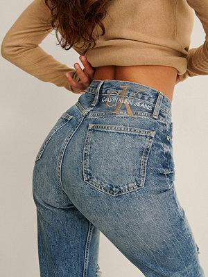 Calvin Klein CK Mom Jeans blå