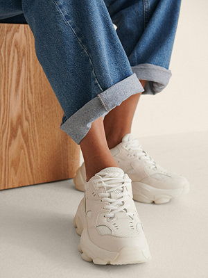 NA-KD Shoes Trainers Med Sula vit