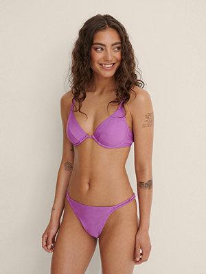 Bikini - NA-KD Swimwear Återvunnen Bikini Underdel Med Kedjelook lila