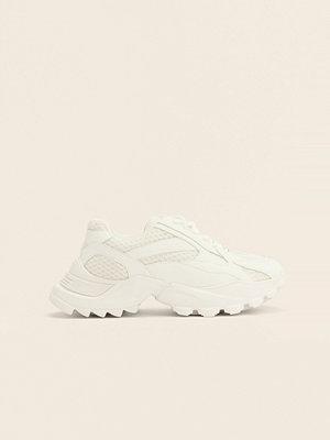 NA-KD Shoes Träningssko Med Rundad Sula vit
