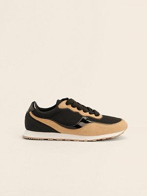 NA-KD Shoes Lättviktiga Träningsskor I Retrostil svart
