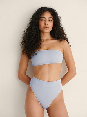 NA-KD Swimwear Bikinitrosa Med Hög Midja grå
