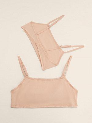 Calvin Klein Ofodrad Bralette 2-Pack rosa