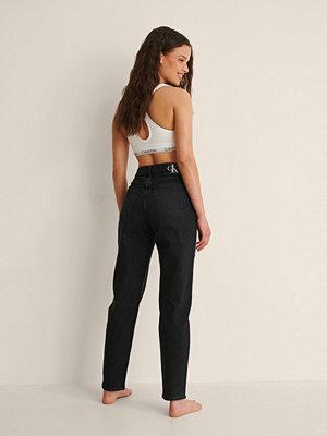 Calvin Klein Mom-Jeans svart