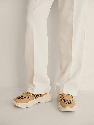 NA-KD Shoes Gymnastiksko Med Leopardmönster brun