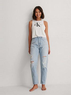 Calvin Klein Ck Mom-Jeans blå