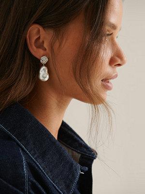 NA-KD Accessories smycke Återvunna Chunky Pärlörhängen silver
