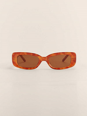 Solglasögon - NA-KD Accessories Solglasögon Med Retrobågar brun