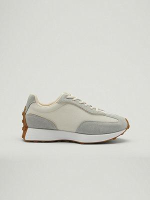 NA-KD Shoes Gympaskor med smal strukturerad sula grå