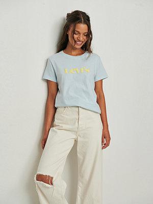 Levi's T-shirt med logga grå