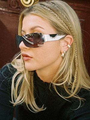 Chloé Monchamp x NA-KD smycke Hoop örhängesset guld