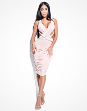 Rebecca Stella Do It Your Way Ruched Bodycon Dress