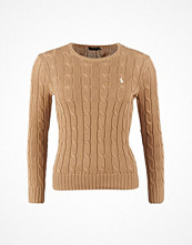 Ralph Lauren Womenswear Julianna Long Sleeve Sweater Bershire Tan