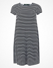 Lauren Ralph Lauren HIWALANI - SHORT SLEEVE CN DRESS BLACK/WHITE