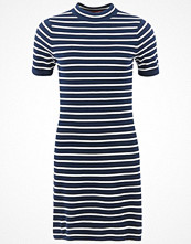Hilfiger Denim Thdw Basic Rn Stripe Sweater Dress Short Sleeve