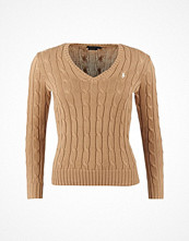 Ralph Lauren Womenswear KIMBERLY PP LONG SLEEVe SWEATER BERSHIRE TAN