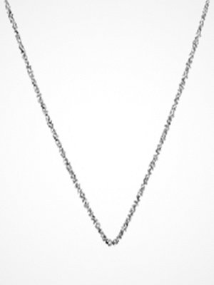 Blue Billie Sparkling Chain 60 Cm Silver