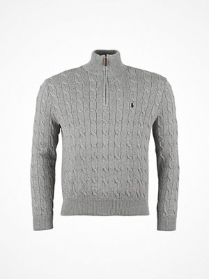 Tröjor & cardigans - Ralph Lauren Long Sleeve Cable Hz Pp Sweater Fawn Grey Heather