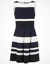 Lauren Ralph Lauren KEYLA 3 TONE - SLEEVELESS DRESS BLACK/LIGHTHOUSE NAVY/IVORY