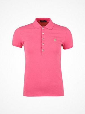Ralph Lauren Womenswear Julie Polo Short Sleeve Knit Baja Pink
