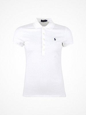 Ralph Lauren Womenswear Julie Polo Short Sleeve Knit White