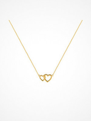 Smycken - SOPHIE By SOPHIE Two Heart Necklace
