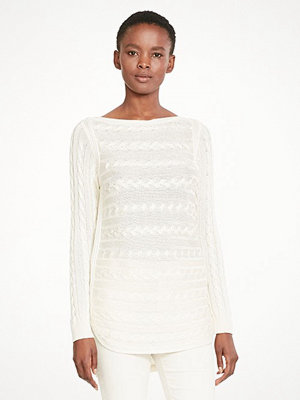 Lauren Ralph Lauren Batell - Long Sleeve Boatneck Antique Ivory