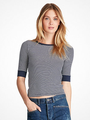 Ralph Lauren Womenswear Striped Jersey Tee RESORT NAVY/NEVIS