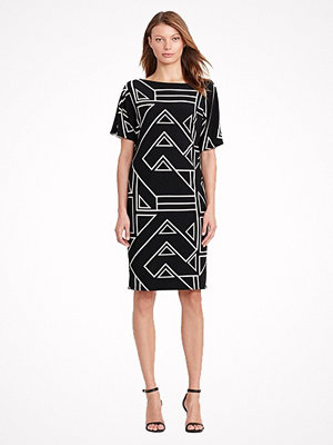Lauren Ralph Lauren Geometric-Print Jersey Dress MULTI
